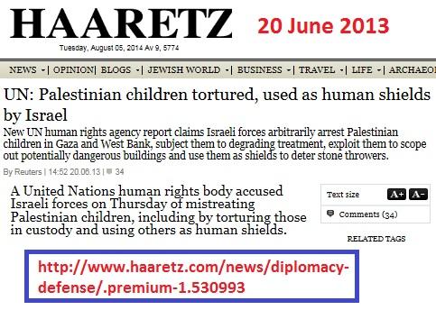 haaretz-un-palestinian_children_tortured_used_as_human_shield_by_israel-1
